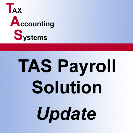 TAS Payroll Solution - Update